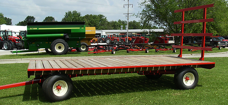 E-Z Trail Farm Wagons | Arthur, IL | Products | Bale Wagons