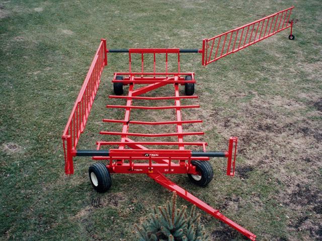 Round Bale Wagon Plans The Wagon